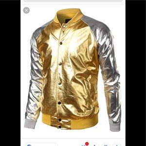 Metallic Nightclub ZipUp  Jacket